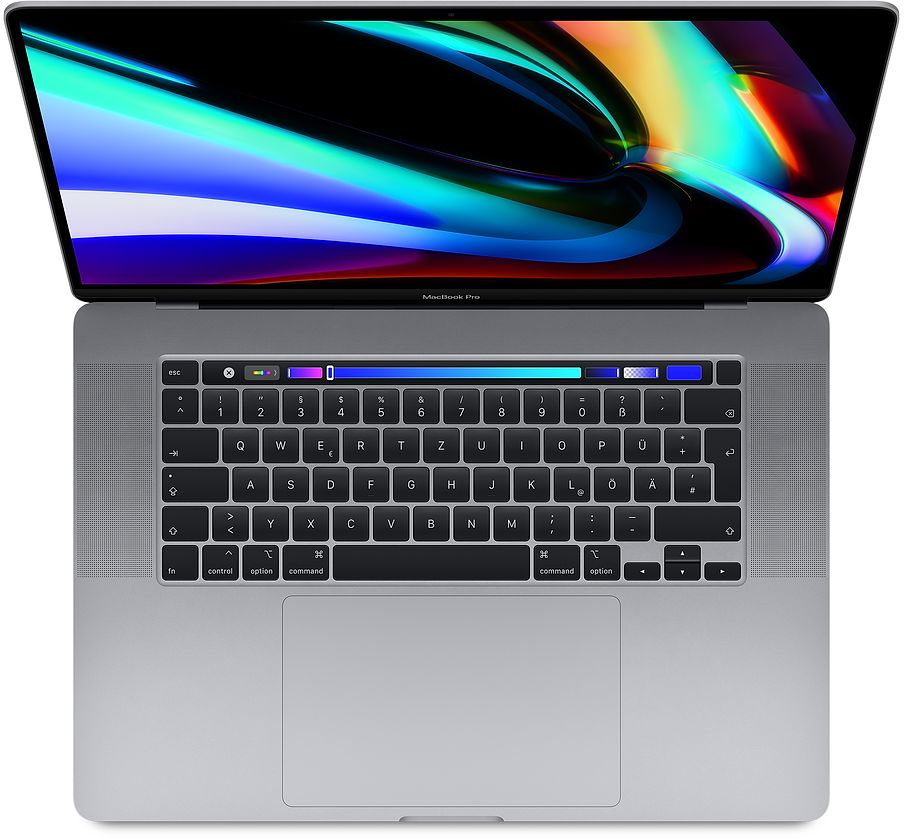 "Apple MacBook Pro 16"", Space Grau, 2,3 GHz 8-Core Intel Core i9 (9.Gen.), 32 GB, Radeon Pro 5500M (4GB) 1 TB SSD"