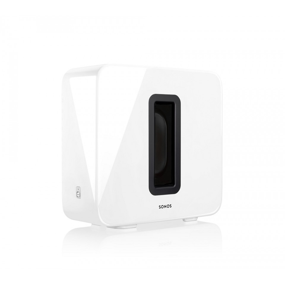 Sub Gloss White Wireless Subwoofer