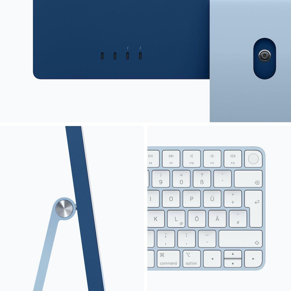 """24"""" iMac Blau"""