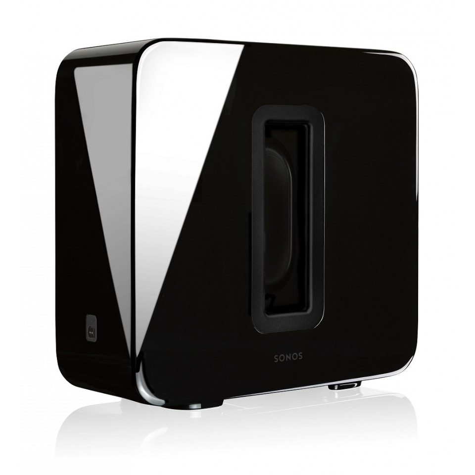 Sub Gloss Black Wireless Subwoofer